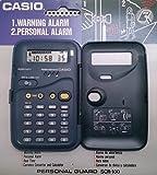 Calculatrice Casio SCR 100-convertisseur monnaie-Horloge Réveil Alarme personnel
