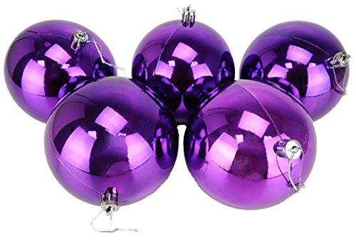 Christmas Concepts 10 Extra Large 100mm Violet Babioles - Arbre de Noël Décorations