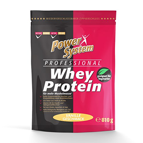 Power System Professional Whey Protein - 810g (Vanille)