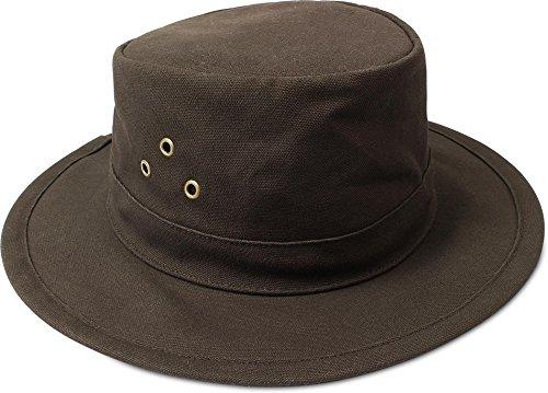 normani Australian Traveller Buschhut Canvas Hat \'Uluru\' Farbe Braun Größe XL