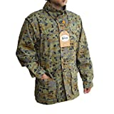 Parka giacca a vento caccia pesca militare sportiva uomo cappuccio
