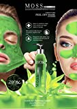Zenix Green Moss Mask Peel - Grüne Peeling Maske gegen Pickel, Mitesser und Unreinheiten - regenerierende Peel-off Maske (1)