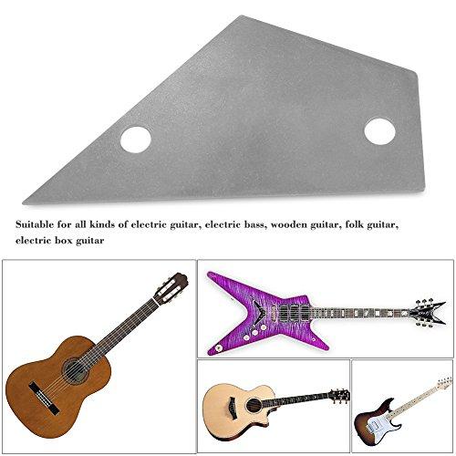 Preisvergleich Produktbild Edelstahl Fret Rocker Abrichtlineal / Stahllineal Werkzeug für Gitarren Bass