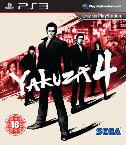 Yakuza 4 (Sony PS3) [Import UK]