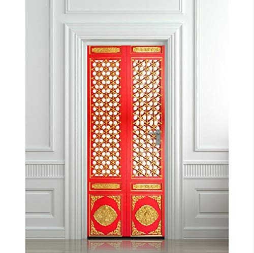 Etiqueta De La Puerta DIY 3D Etiqueta De La Pared
