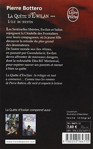 L'Île du destin (La Quête d'Ewilan, Tome 3)