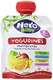Hero Baby - Yogurines Multifrutas, 80 g - [Pack de 18]