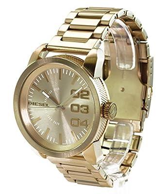Diesel DZ1466 - Reloj de Cuarzo para Hombre, con Correa de Acero Inoxidable, Color Dorado