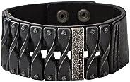 Diesel Men's Black Bracelet, DXM057