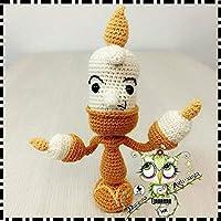 LUMIÈRE LA BELLA Y LA BESTIA DISNEY AMIGURUMI PERSONALIZABLE (Bebé, crochet, ganchillo,