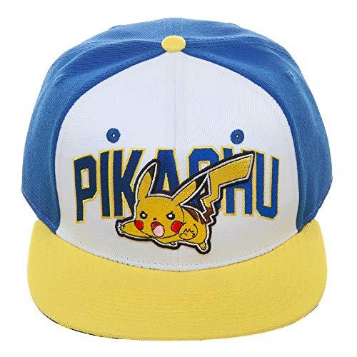 Imagen de bioworld pokémon pikachu color block casquette à clipser amarillo alternativa