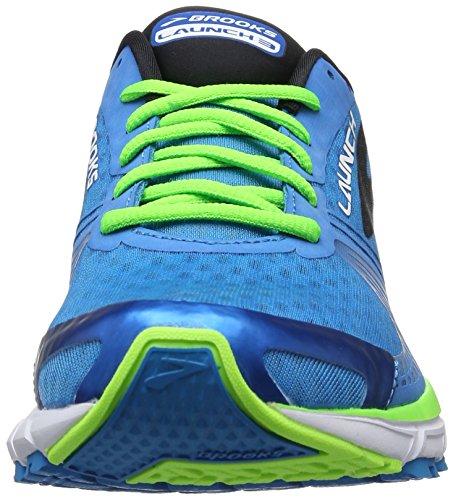 Brooks Herren Launch 3 Laufschuhe Blau (blau/grün)