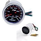 THG temp del aceite Gauge DC12V autom¨¢tica de medidores los 52MM
