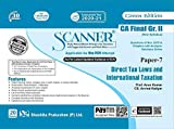 Scanner CA Final (New Syllabus) Gr. II Paper - 7 Direct Tax Laws and International Taxation (Green Edition)