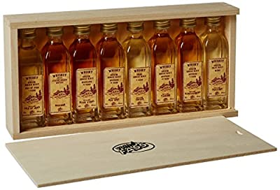 VOM FASS Miniature Whiskey Gift Set 40 ml (Pack of 8) from Vom Fass