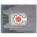 DC Cyborg Maschinen-Zahnlogo Silber Portemonnaie Geldbörse