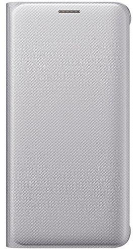 Samsung Flip Wallet Schutzhülle (geeignet für Galaxy S6 Edge Plus) silber
