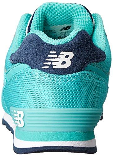 New Balance KL574 Classic Sneaker (Big Kid) Teal/Black