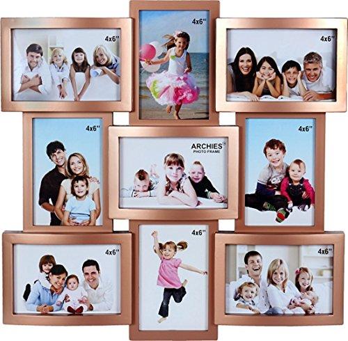 JaipurCrafts Premium Collage Photo Frame (Photo Size - 4 x 6, 9...