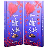 #6: Cadbury Dairy Milk Silk Chocolate Special Valentine Pack, 250g (Pack Of 2)