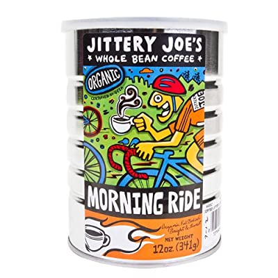 Jittery Joes Morning Ride Full City Roast 12oz Ground Coffee by Jittery Joe's