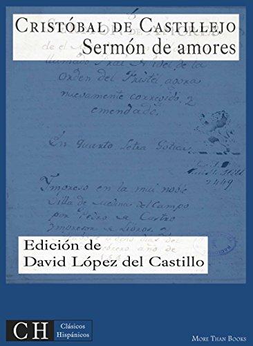 Sermón de amores (Clásicos Hispánicos nº 15)