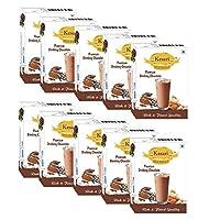 Kesari Premium Drinking Chocolate Milk Masala- 100 Gram, Pack of 10