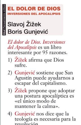 El dolor de Dios. Inversiones del Apocalipsis (Pensamiento crítico) por Slavoj Zizek