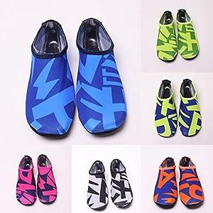 cinnamou Unisex Strandschuhe,Strandschuhe Wassersport Unisex Wasser Schuhe Barfuß Yoga Socken Tauchen Barfuß