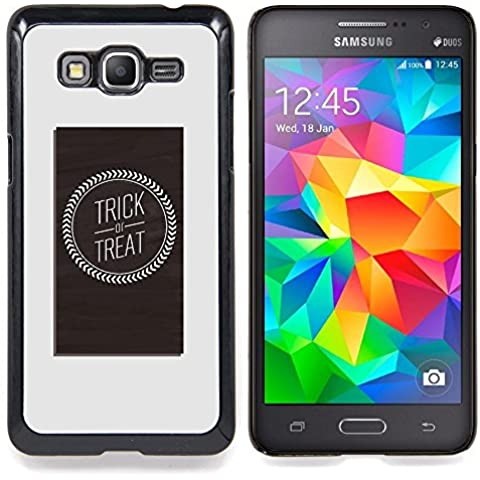 For Samsung Galaxy Grand Prime SM-G530F G530FZ G530Y G530H G530FZ/DS , Trattare Logo Poster Quote (Ds Trattare)