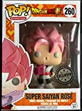 Funko - Figurine DBZ - Black Son Goku Super Saiyan Rose Exclu Pop 10cm - 0889698139229