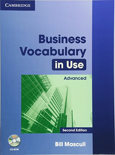 Business Vocabulary in Use 2nd  Advanced with Answers and CD-ROM