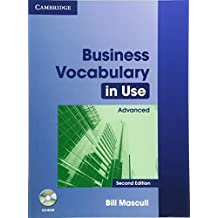 Business Vocabulary in Use Advanced with Answers and CD-ROM: Advanced with Answers and CD-ROM