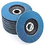 10 x rondelles de blocage dentelées, 125 mm, grain 120, disques à surfacer, disque...
