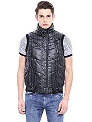 Arrow Sports Mens Nylon Jacket (8903663165630_AJGS8503_Medium_Blue)