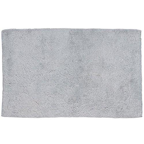 Kela-Alfombra de baño antideslizante, algodón, color Gris claro, gris claro, 50 x 80 x 2 cm