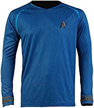 Cosparts Into Darkness Spock Blue Man's Uniform T-S