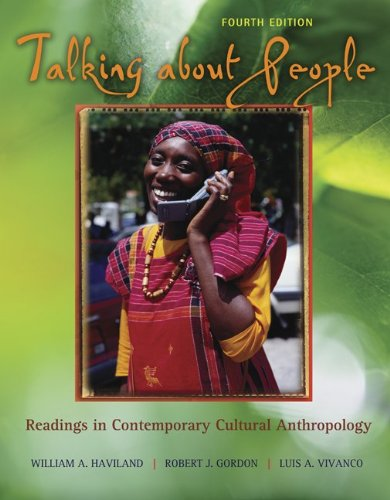 Talking About People: Readings in Cultural Anthropology