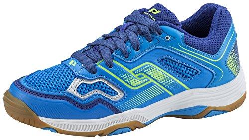 Pro Touch Unisex-Kinder Rebel II Jr. Multisport Indoor Schuhe, Blau (Blue/Navy/Green Lime 000), 39 EU
