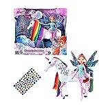 Giochi Preziosi - Winx Bloom Tynix e Elas l'Unicorno con Stickers