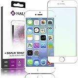 NALIA Schutzglas für iPhone 6 / 6S, 3D Full-Cover Displayschutz Handy-Folie, 9H gehärtete Glas-Schutzfolie Bildschirm-Abdeckung, Schutz-Film Phone HD Screen Protector Tempered Glass, Farbe:Weiß