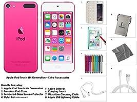 Apple iPod Touch 32 Go - Rose + Accessoires supplémentaires 6ème génération **Nouveau Modèle Juillet 2015**