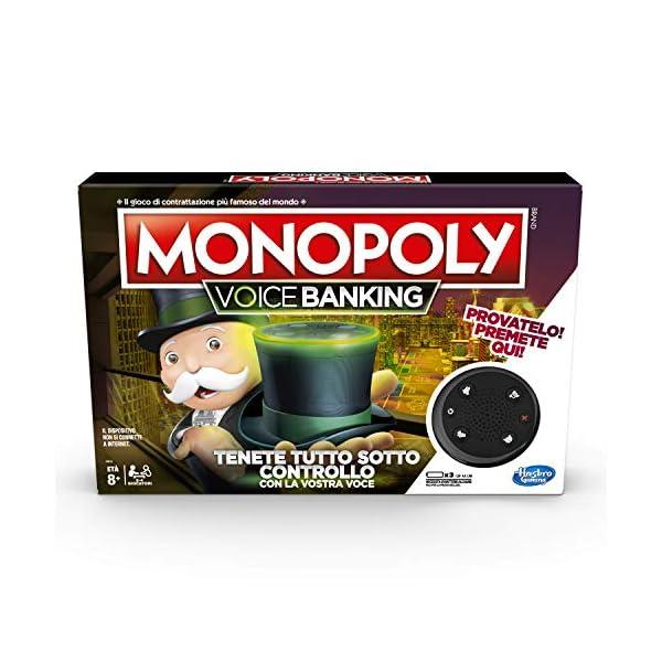 Hasbro Monopoly - Voice Banking (Gioco in Scatola Elettronico) 2 spesavip