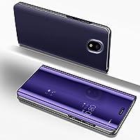 Galaxy J4 2018 Hülle,Galaxy J4 2018 Spiegel Ledertasche Handyhülle Brieftasche im BookStyle,SainCat Überzug Mirror... preisvergleich bei billige-tabletten.eu
