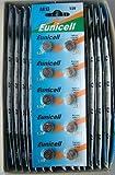 Eunicell AG13 Alkaline Batterie (LR44, 357, G13, 1,5 V), 300 Stück