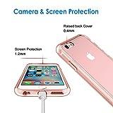 iPhone 6s Plus Hülle, JETech® Apple iPhone 6 Plus / 6s Plus 5.5 Hülle Tasche Schutzhülle Case Cover Bumper und Anti-Scratch Löschen Back für iPhone 6s Plus iPhone 6 Plus 5.5 (Roségold) - 4