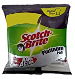 #5: Scotch-Brite Scrub Pad, Platinum, 3 Pieces Pack