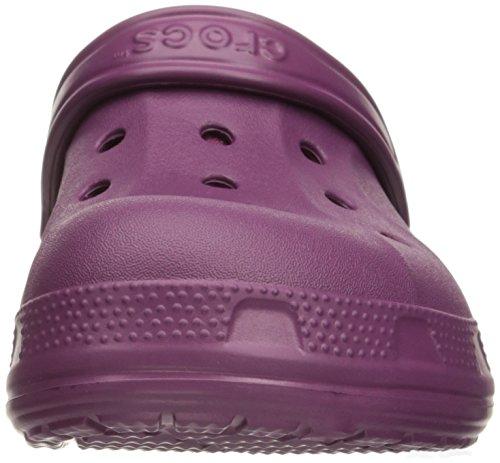 Crocs Crocswinterclg, Zoccoli Unisex – Adulto, Black Plum/Oatmeal