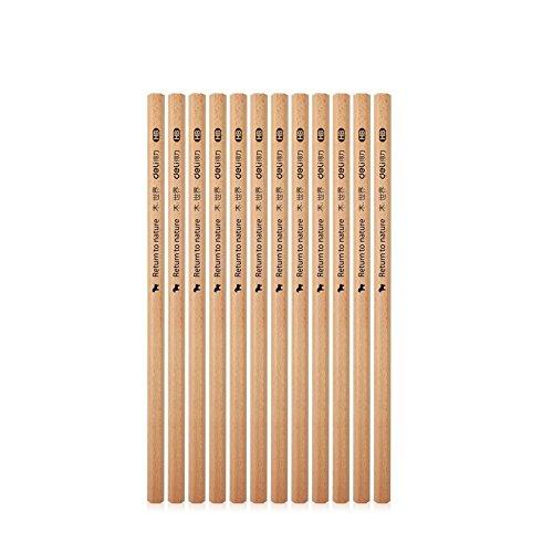 Holzstifte rohe natürliche Holzstifte 2B Büro Schule liefert Graphitstifte Malerei Zeichnung Kunst liefert Bleistifte 30pcs