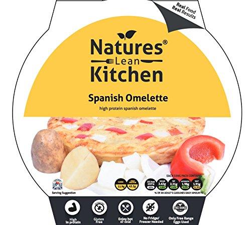 Natures Lean Kitchen Omelette 330 g Spanish Protein & Bodybuilding Mahlzeit